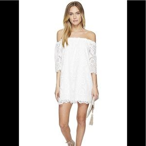 BB Dakota Halden Off Shoulder Dress